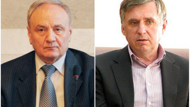 După ce au ieșit reprezentanții partidelor, la Timofti, a venit Ion Sturza