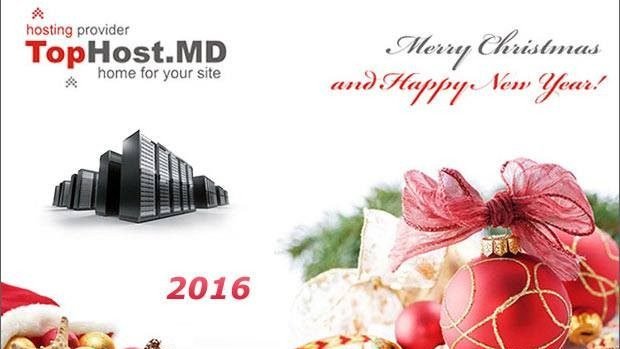 Ofertă de Crăciun de la TopHost: Web Hosting Gratuit pentru un an întreg