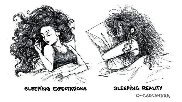 (foto) Problemele de zi cu zi ale femeilor, ilustrate de o româncă prin desene amuzante
