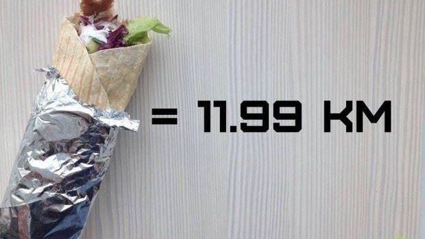 (foto) Cât trebuie să alergăm, în dependență de ce alimente consumăm