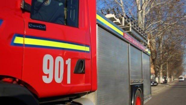 (video) O explozie s-a produs într-o clădire din apropierea Pieței Centrale