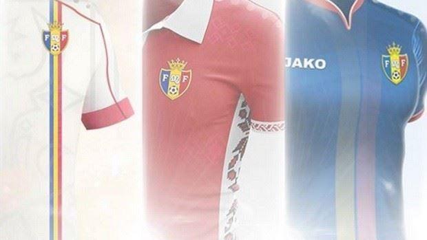 (foto) Alege tu care va fi viitorul echipament al naționalei de fotbal a Moldovei
