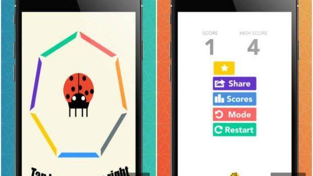 """""""Buburuză, sari"""" – un nou joc colorat creat de un tânăr moldovean"""
