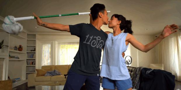 (video) Evoluția dragostei în pași de dans. Suișurile și coborâșurile unei vieți de cuplu
