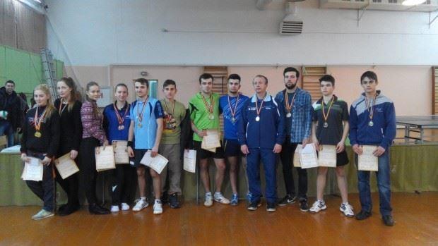 Campionatul Republicii Moldova la tenis de masă. Cine sunt cei mai buni sportivi din domeniu