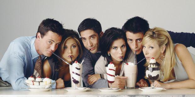 """(foto) Cum arată prima fotografie de la reuniunea actorilor din serialul """"Friends"""""""