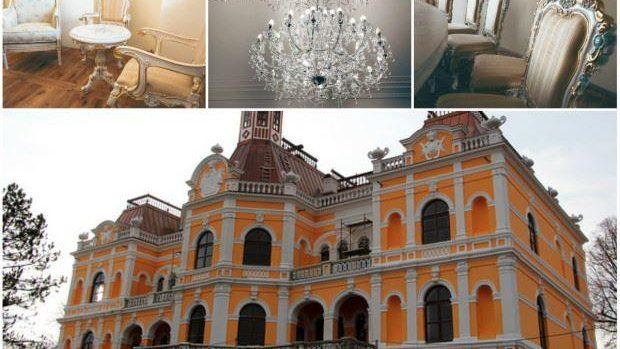 (foto) Așa arată furnitura de epocă care se va regăsi în Palatul Princiar de la Manuc Bey