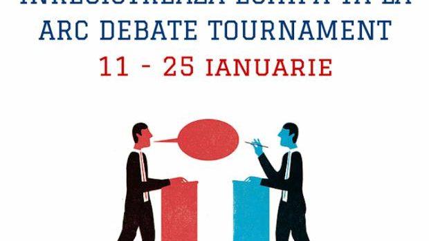 Înscrie-ți echipa și participă la un campionat pentru cei pasionați de dezbateri