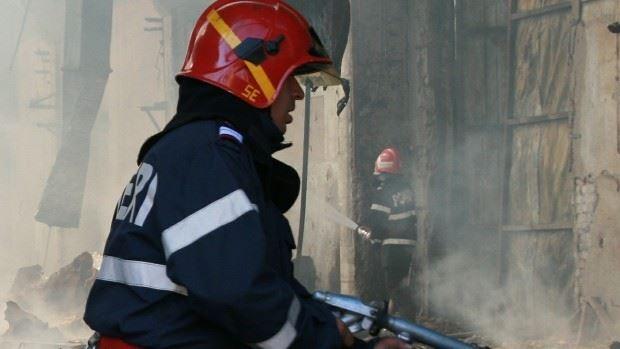 Incendiu la Ialoveni. O femeie și-a pierdut viața după explozia unei butelii cu gaz