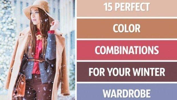 (foto) Cele mai perfecte combinații de culori pentru iarna acestui an
