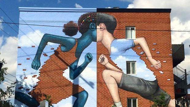 Un artist francez transformă clădiri plictisitoare din întreaga lume în opere de artă