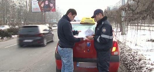 (video) Poliția s-a apucat de verificat taximetriștii. A depistat peste 150 de încălcări