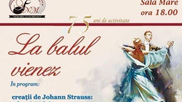 Rezervați-vă seara de vineri, 29 ianuarie, pentru un bal vienez cu muzică de Johann Strauss