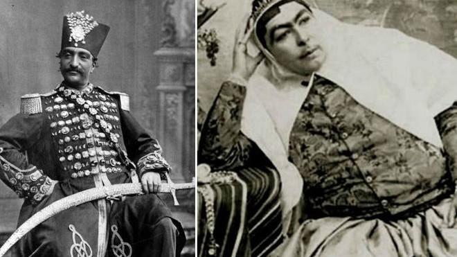 (foto) Femeile din haremul celui mai longeviv șah al Iranului