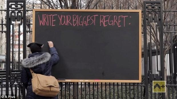 (video) Experiment emoționant: Care este cel mai mare regret al tău?
