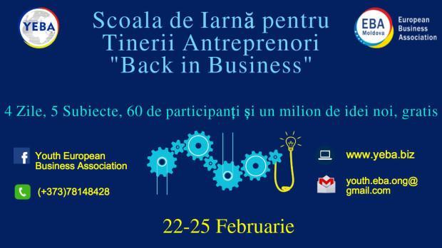 Tinerii antreprenori pot participa la o Școală de Iarnă dedicată businessului