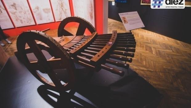 Cine n-a reușit să vadă expoziția invențiilor lui Da Vinci la Chișinău o pot face fiind la Odessa