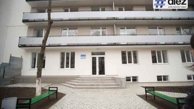(foto) Condiții de hotel în căminul renovat al Universității de Stat din Moldova