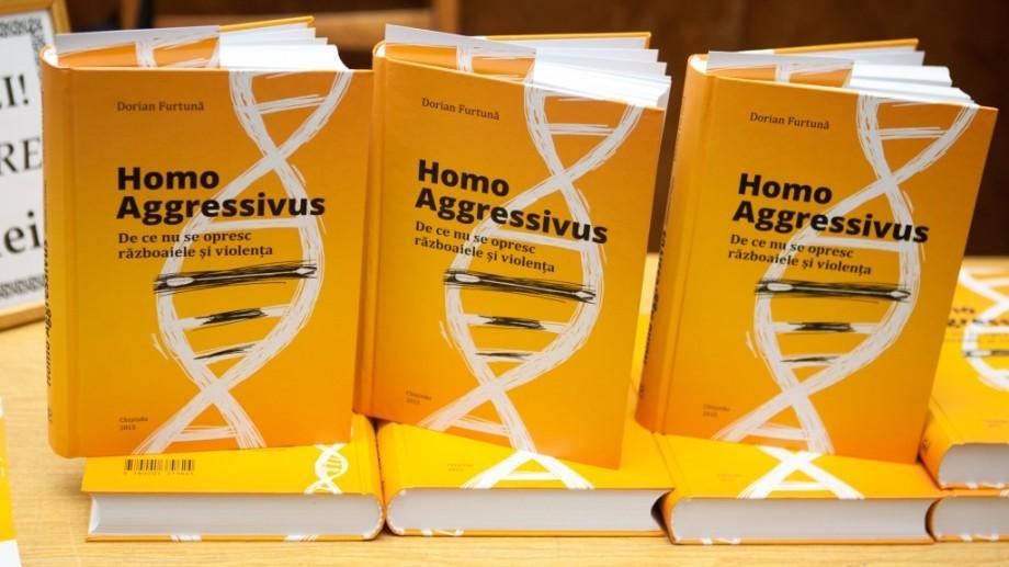 """5 motive pentru care ar trebui să citești cartea """"Homo Aggressivus"""" de Dorian Furtună"""