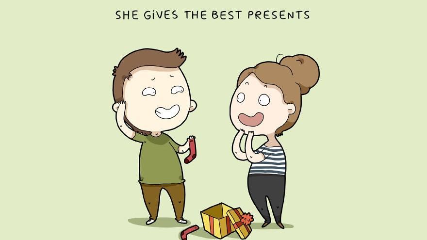 (foto) Motivele pentru care bărbații iubesc femeile, într-o serie de ilustrații amuzante
