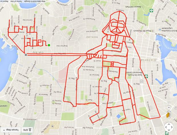 Darth Vader - 46.4 km 2h 17minute