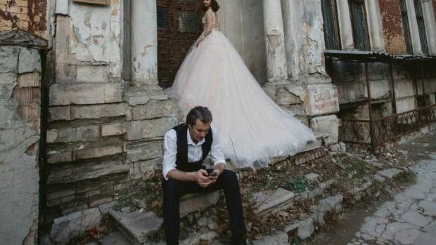 (foto) Patrimoniul cultural și istoric al Chișinăului, reprezentat prin fotografii de nuntă