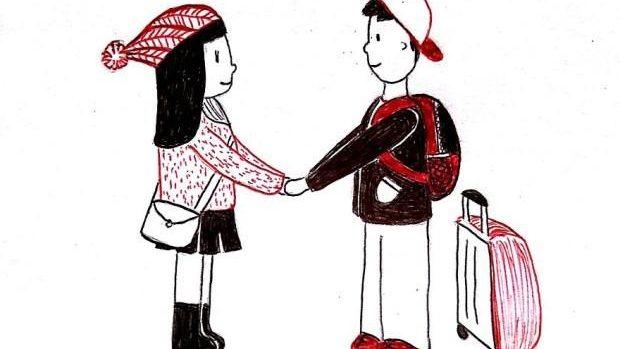 (foto) Cum e să fii într-o relație la distanță, prin imaginile unei persoane îndrăgostite