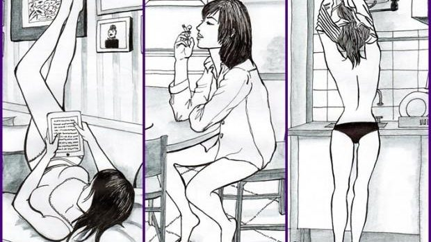 (foto) Viața persoanelor singure, într-o serie de ilustrații captivante
