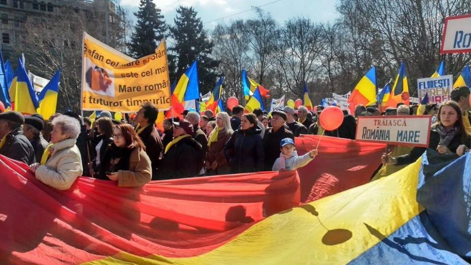 (video) Vezi cum se petrece Marșul Unirii, cel mai mare marș unionist de la Chișinău