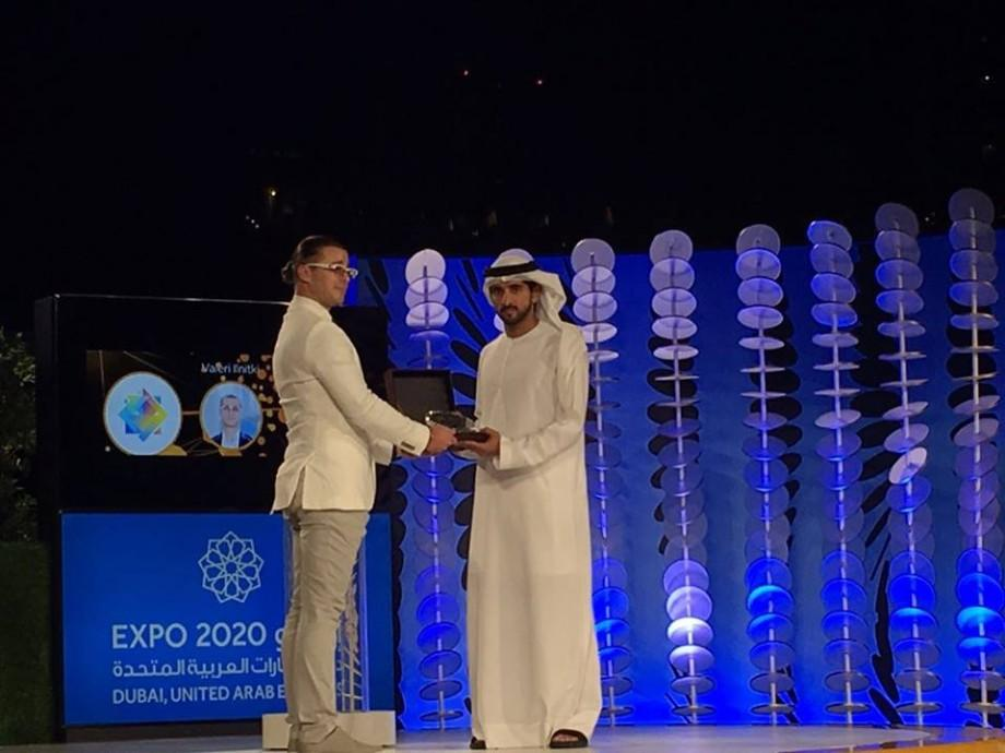(foto) Tânărul moldovean Valerii Ilnițchi a ajutat la crearea logoului World Expo 2020 care se va desfășura în Dubai