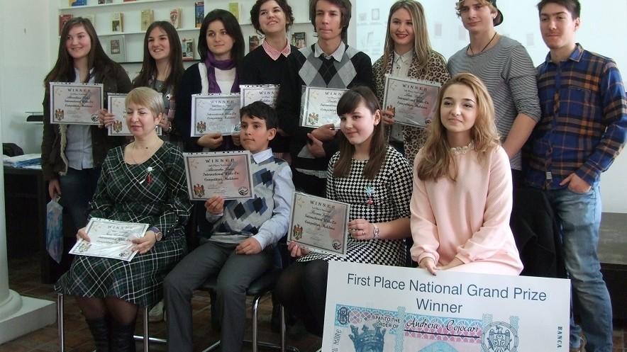 Cinci studenții de la ULIM au fost premiați în cadrul unui Concurs Internaţional de Eseuri în Limba Engleză
