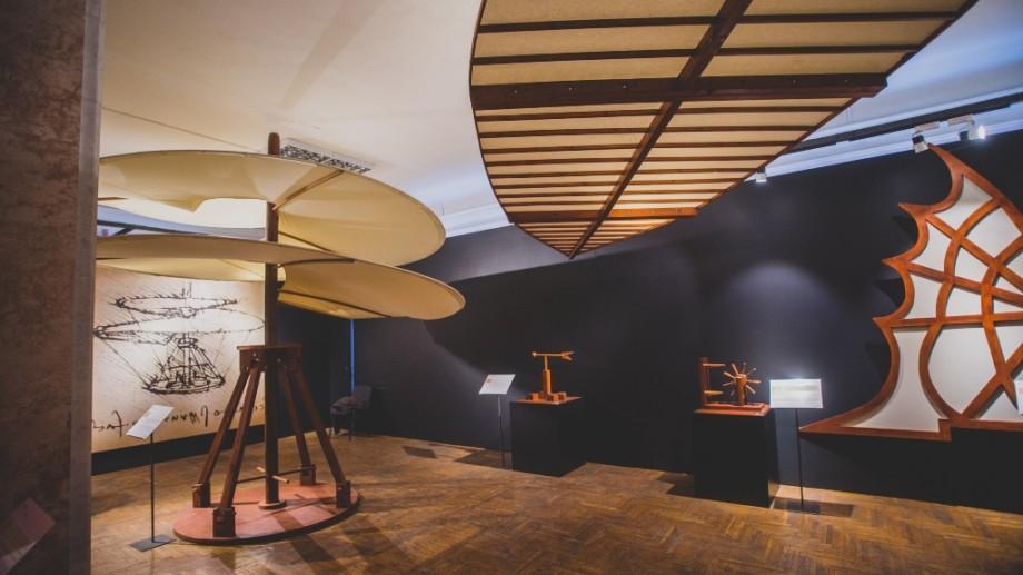 Perioada expoziției invențiilor lui Da Vinci a fost extinsă până la 30 aprilie