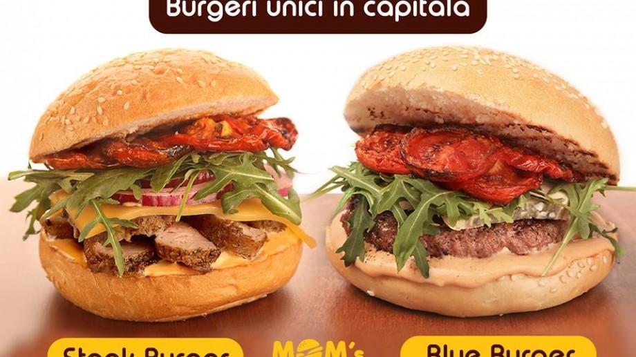 (foto) Chișinăul se mai poate mândri cu apariția a doi burgeri noi: Steak Burger și Blue Burger