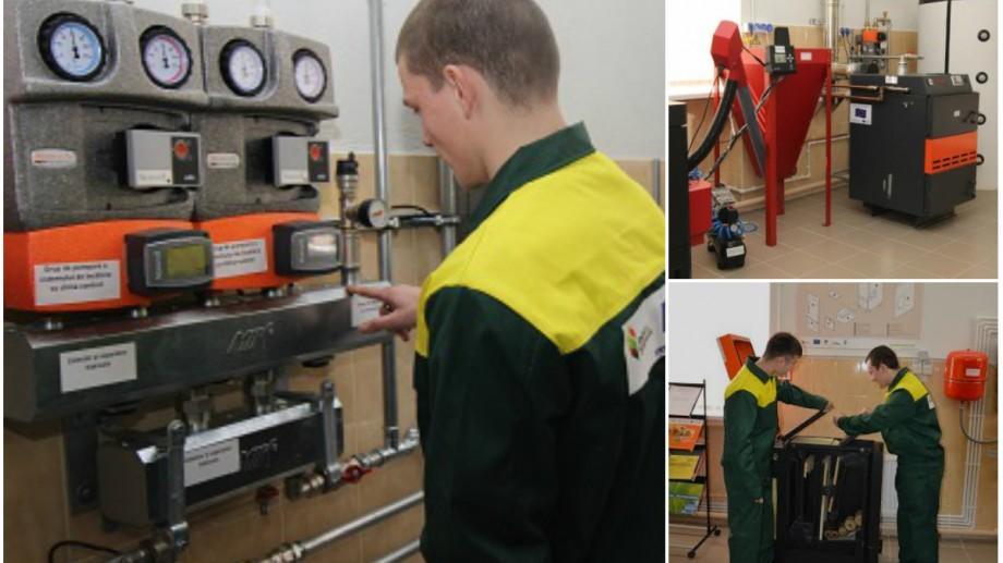 Şcoala Profesională nr. 3 din Chişinău va instrui viitorii operatori de cazane pe biomasă