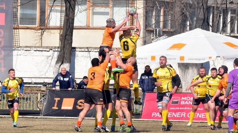 (foto) Victorie pentru echipa de rugby a Moldovei la Cupa Europei pe Naţiuni