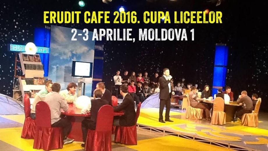 Cupa Liceelor la Erudit Cafe: Duceți faima liceului vostru în toată Moldova
