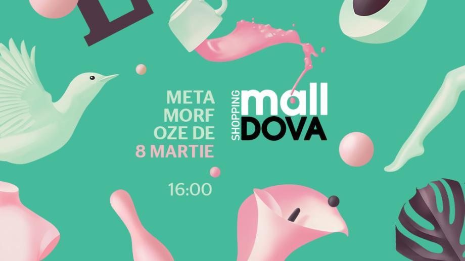 Metamorfoze cu miros de lalele, pe 8 martie, la Shopping MallDova