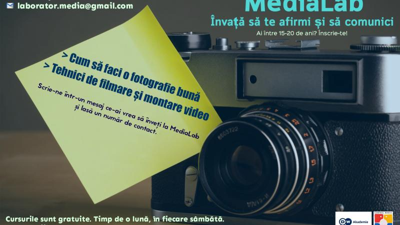 Participă la un workshop și învață să produci un video și o imagine de calitate