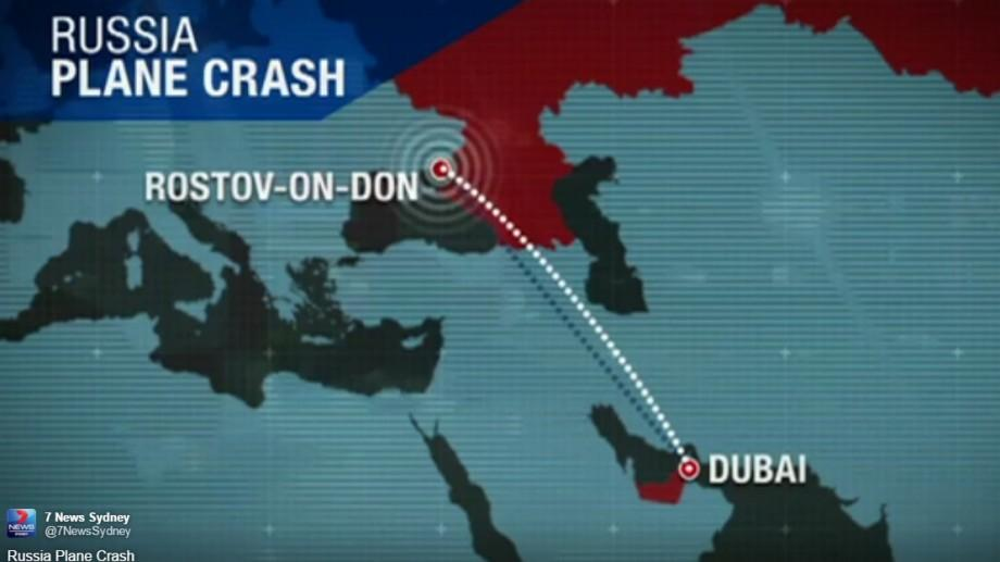 Un avion de la FlyDubai s-a prăbușit în Rusia: 62 de persoane au decedat