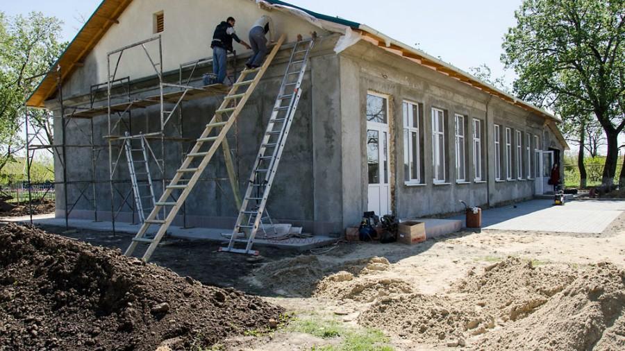 (foto) UE finanțează lucrările de renovare a trei școli din stânga Nistrului. Iată care sunt acestea