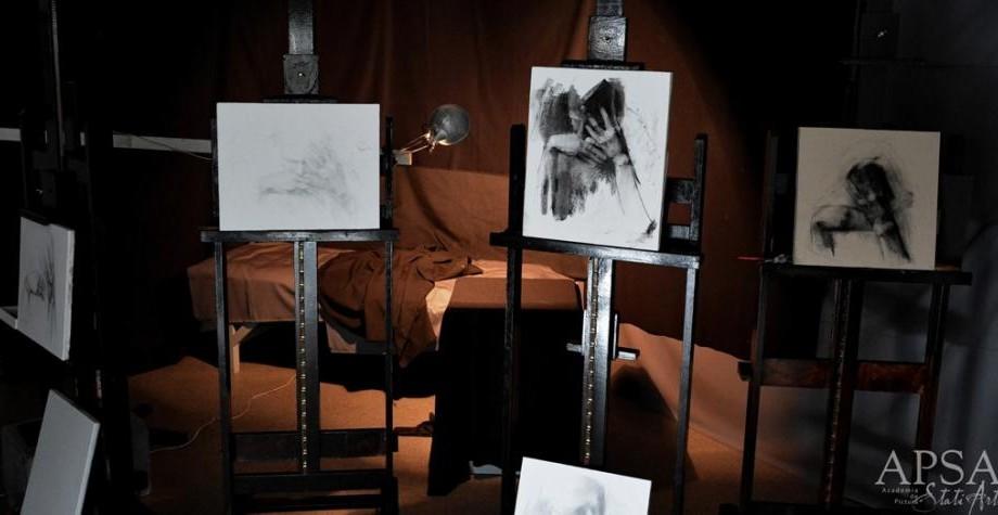 """(foto) Academia de Pictură """"Stati Art""""- locul unde nu se tolerează superficialitatea"""