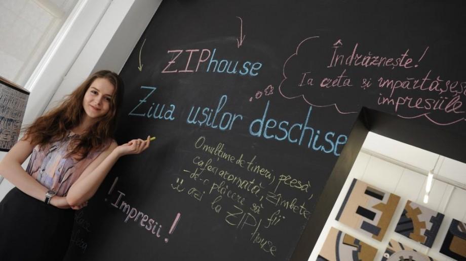 (foto) ZIPhouse și-a deschis ușile pentru studenții creativi din domeniul fashion/design