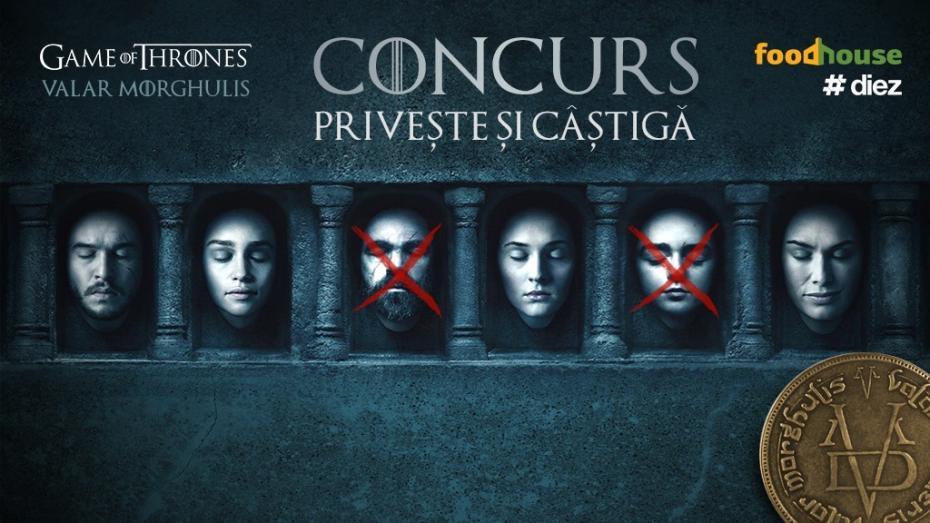 Valar Morghulis: Ghicește ce personaje din Game of Thrones vor muri în sezonul 6 și câștigă premii