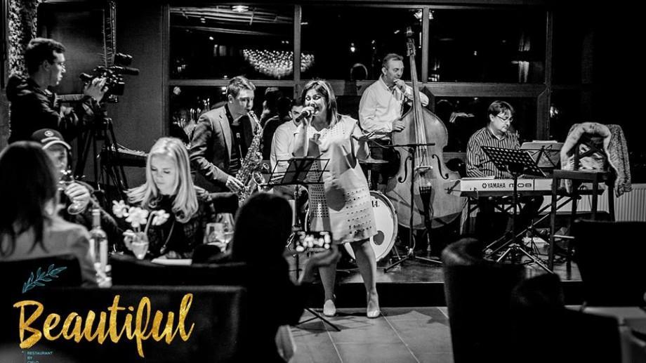 (foto) Jazz la Chișinău: Concertul Getei Burlacu la CIELO Lounge & Restaurant