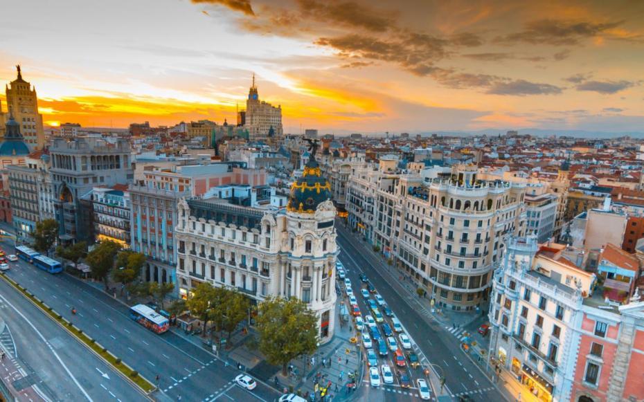 Madrid: Photo Credit. telegraph.co.uk