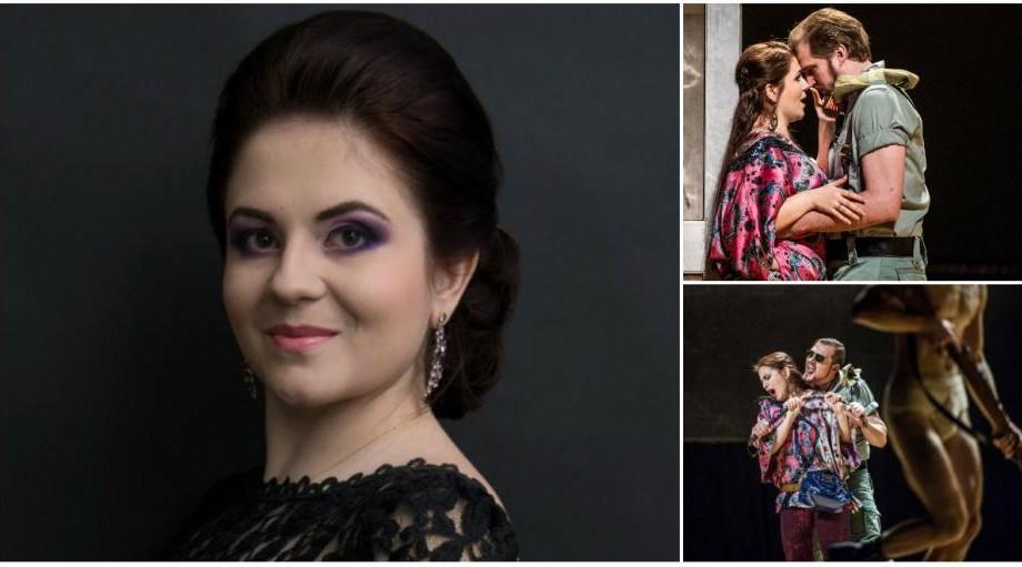 (foto) Natalia Tanasiiciuc – tânăra soprană care cucerește Opera Națională din Norvegia