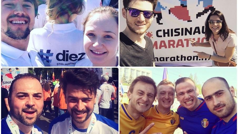Cum se vede Maratonul Internațional la Chișinău pe Instagram