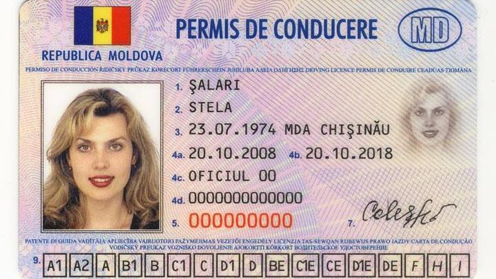 Șoferii moldoveni care dețin permise de conducere fără termen de valabilitate, vor trebui să le schimbe