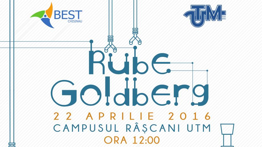 Vino la cea mai transformatoare competiție inginerească din Moldova — Rube Goldberg 2016