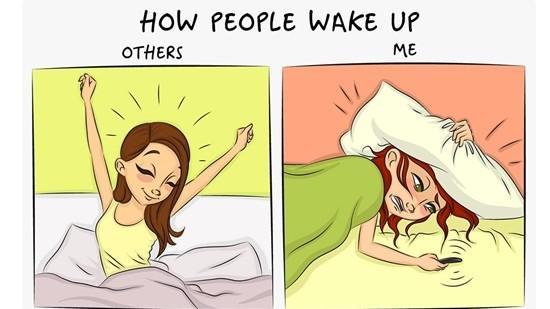 Ilustrații amuzante ce arată diferența dintre propria persoană și restul lumii